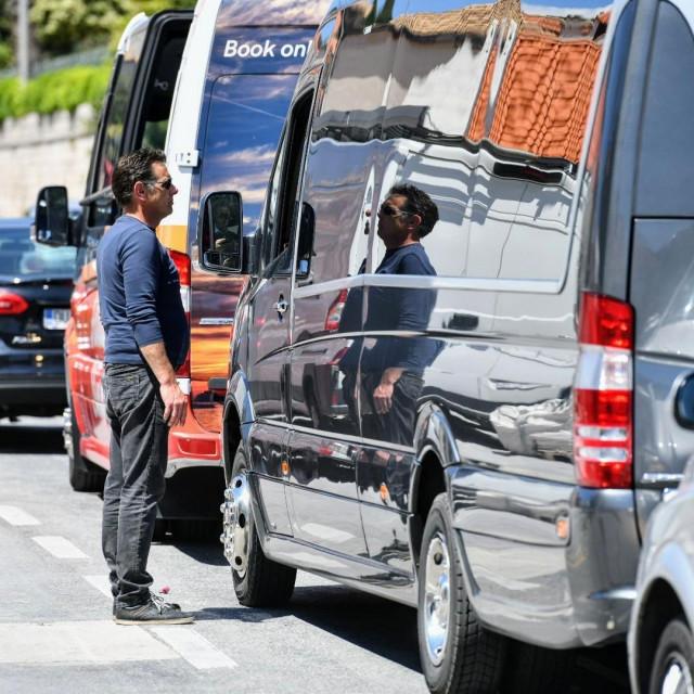 prosvjed dubrovačkih autobusera