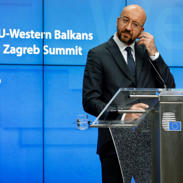 Predsjednik Vijeća EU-a Charles Michel na konferenciji o zapadnom Balkanu