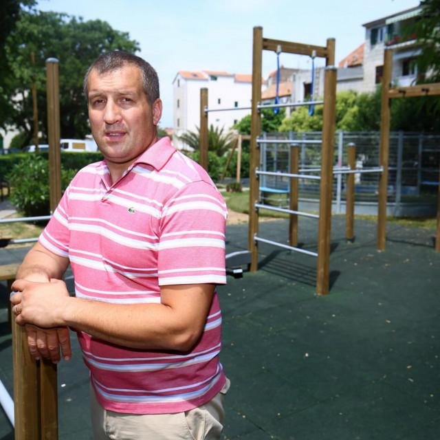 Tomislav Zaninović, predsjednik kotara Bačvice<br />