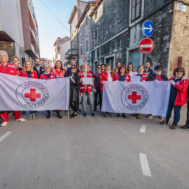 Volonteri GD CRvenog križa Šibenik
