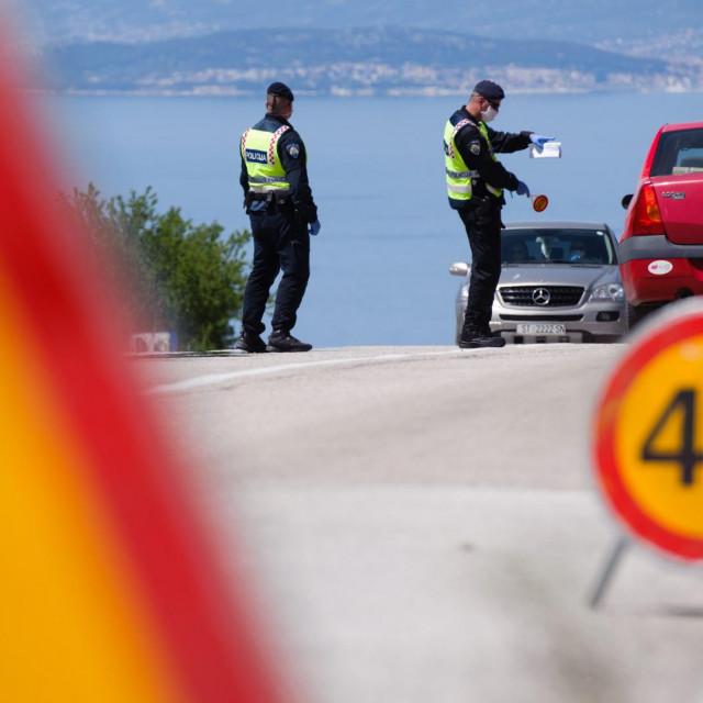 Danas je uvedena mjera zabrane napuštanja mjesta prebivališta i stalnog boravka na području otoka Brača