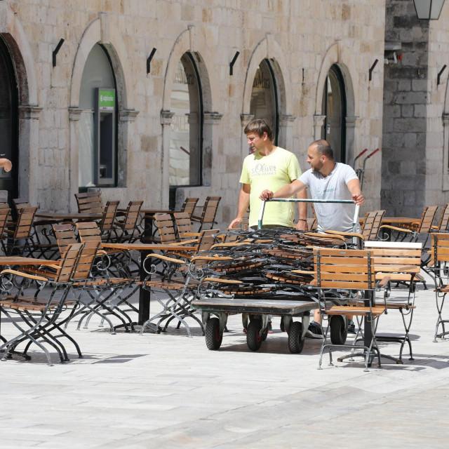 Ugostitelji su s radošću dočekali mogućnost konačnog poniovnog otvaranja caffe barova, bistroa i restorana