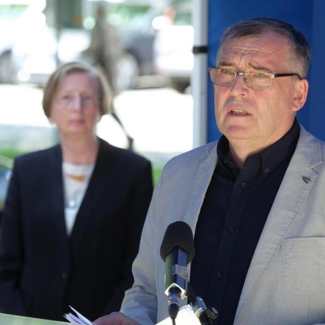 Krunoslav Capak i Alemka Markotić