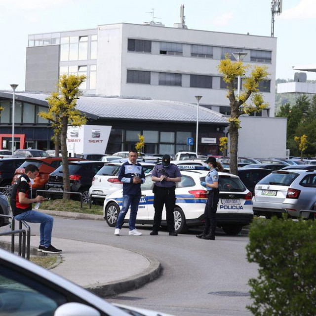 Dojava o bombi, foto Željko Puhovski/Hanza media