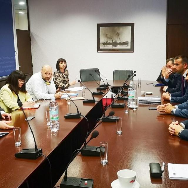 Dubrovački gradonačelnik Mato Franković sastao se s ministrom mora, prometa i infrastrukture Olegom Butkovićem