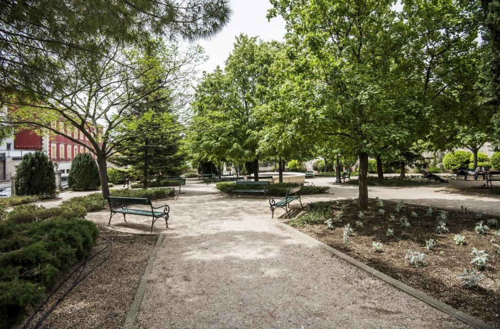 Park Roberta Visijanija u centru Šibenika