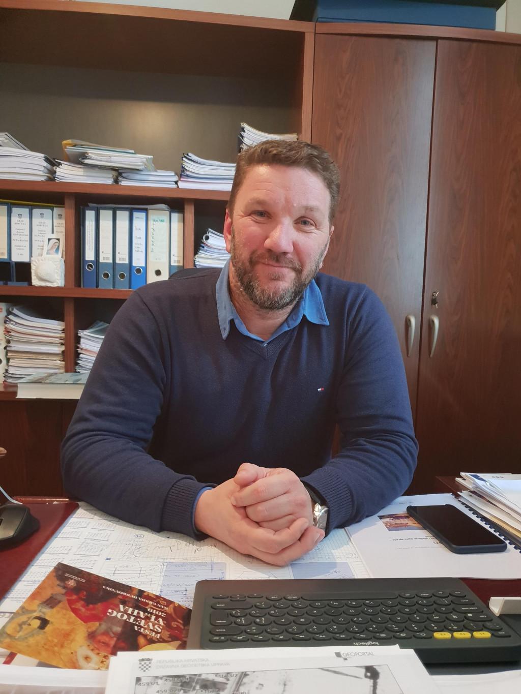 Gradonačelnik Korčule Andrija Fabris