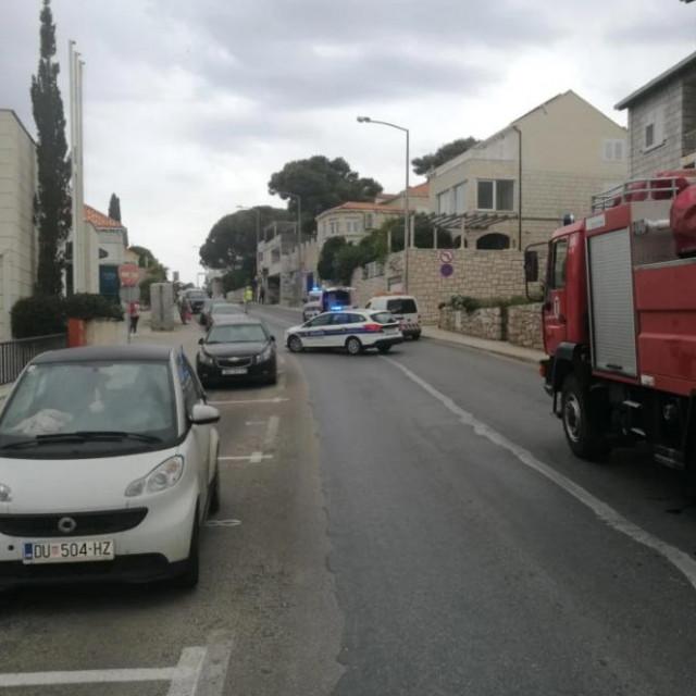 Prometna nesreća u Ulici Pera Čingrije