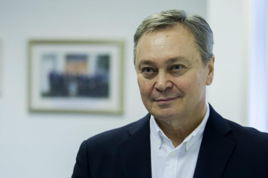 Zdenko Adrović, predsjednik Hrvatske udruge banaka.<br />