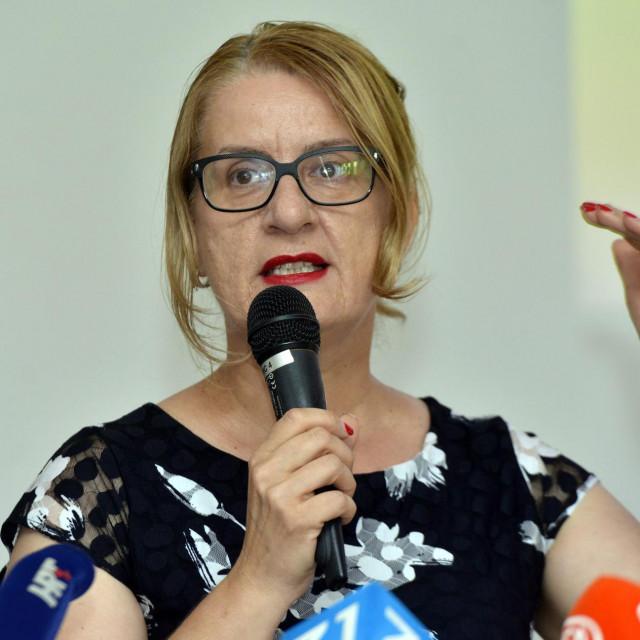 Željka Jurković, predsjednica Hrvatske komore arhitekata /