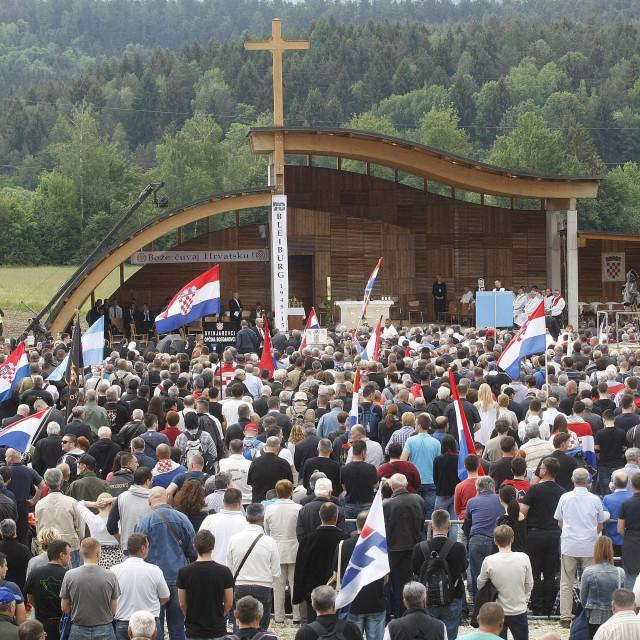 Komemoracija i Sveta misa na Bleiburškom polju prije pet godina