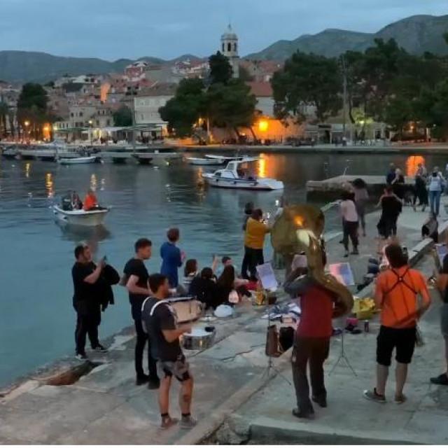 Cavtat Konavle Tourist Board, Limena glazba Cavtat, Facebook screenshot