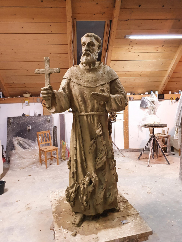 Kip svetog Nikole Tavelića Vida Vučaka
