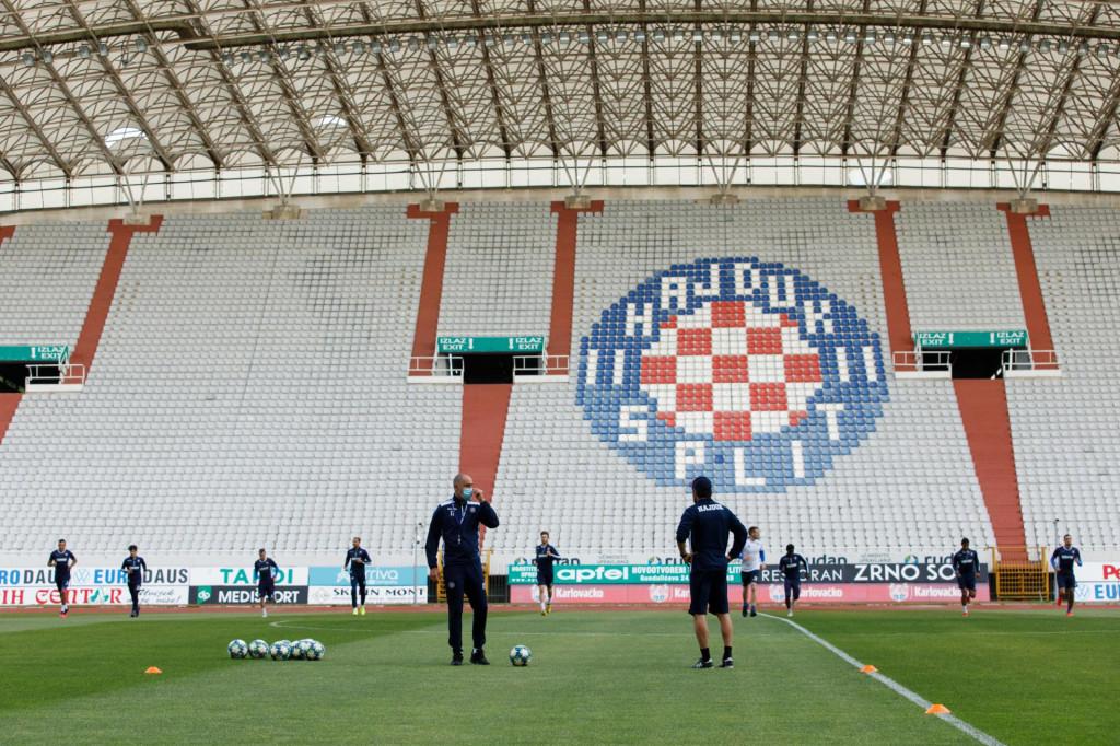 Hajdukov prvi momčadski trening nakon dva mjesweca