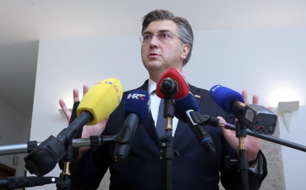Andrej Plenković se obratio naciji