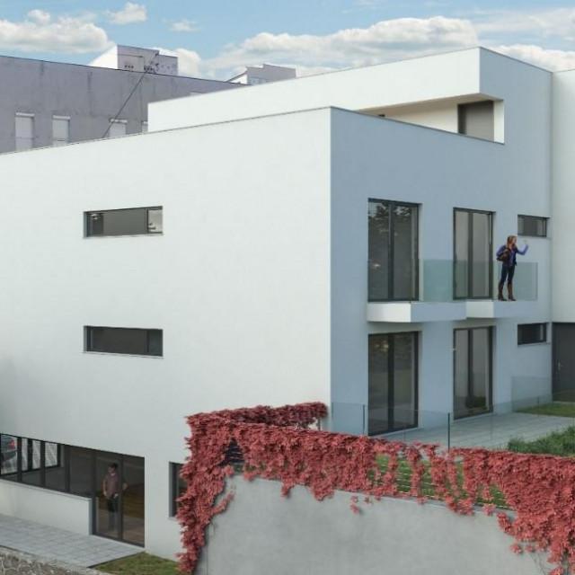 Smještajni prostori imat će otvorenu terasu na istočnom dijelu objekta