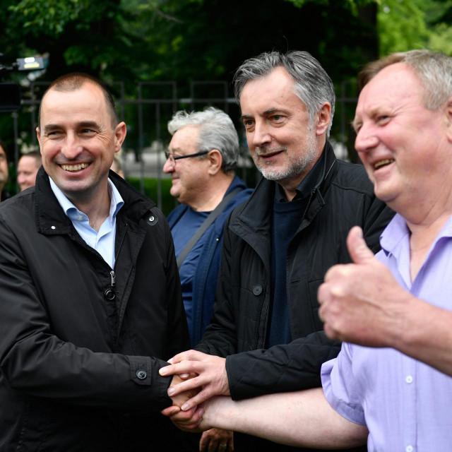 Nenad Matić, Miroslav Škoro i Stjepan Horvat<br />