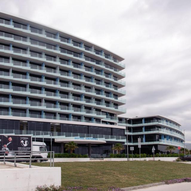 Hotel 'Amphora' trenutno je najveći hotel u Splitu, koji broji 206 soba
