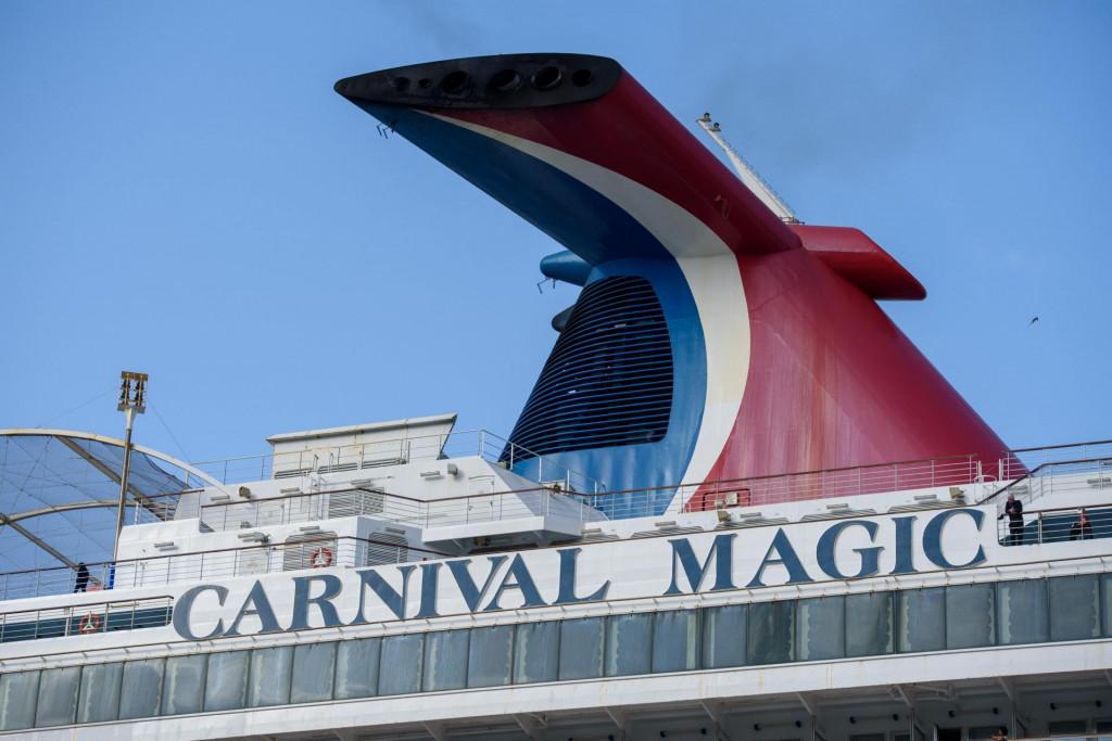 <br /> Pomorci su nakon mjeseci izolacije na brodovima uplovili jutros kruzerom Carnival Magic u grušku luku<br />