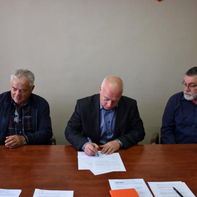 Projekcija odmorišta i vidikovca na Vrelu Cetine