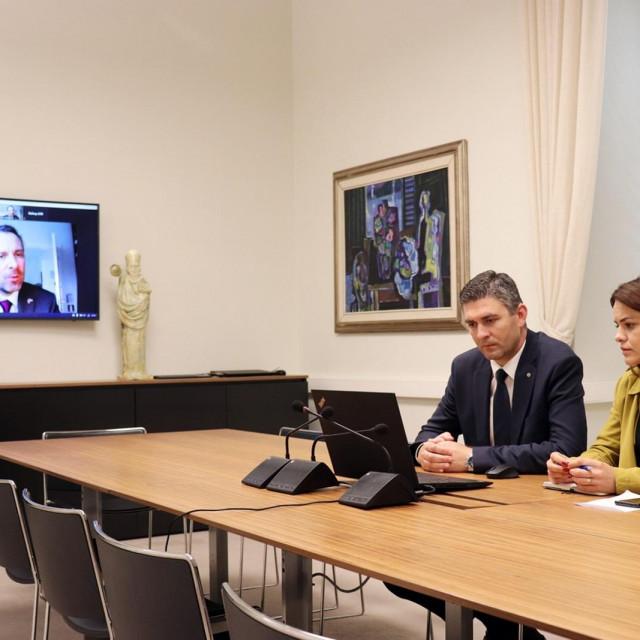 Franković s britanskim veleposlanikom o ovogodišnjoj sezoni