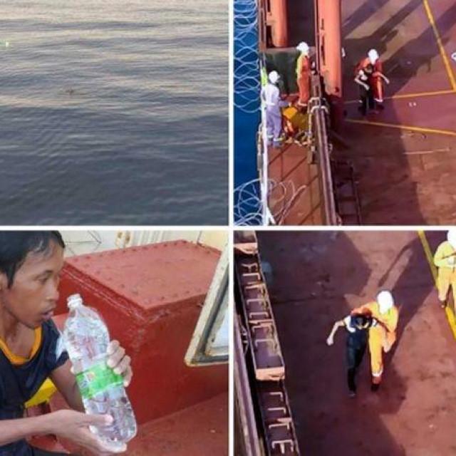 Spašavanje čovjeka na Filipinima