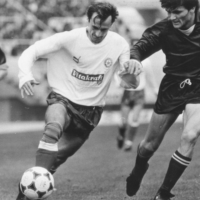 Radovan Krstović u dresu Hajduka foto: arhiv Slobodne Dalmacije