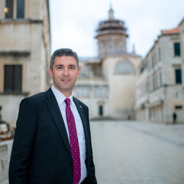 Mato Franković, gradonačelnik Dubrovnika