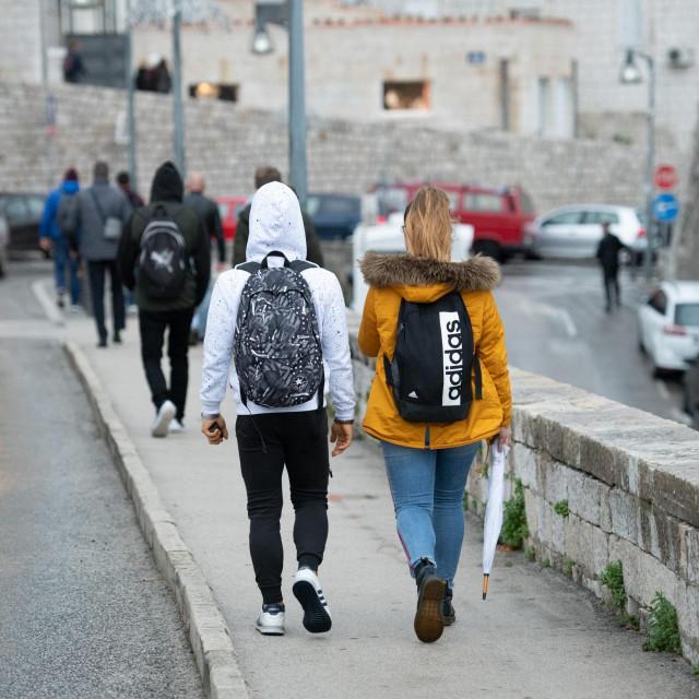 Dubrovnik, 031219.<br /> Nastavljena je nastava u svim skolama nakon dugotrajnog strajka djelatnika u prosvjeti.<br />
