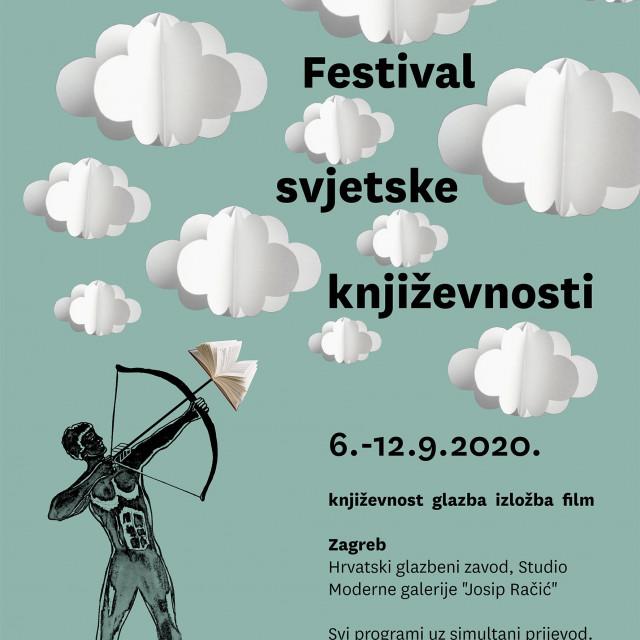 Mihael Kolarić, prva nagrada žirija za plakat osmoga Festivala svjetske književnosti