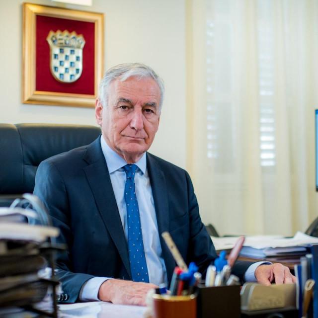 župan dubrovačko-neretvanski Nikola Dobroslavić