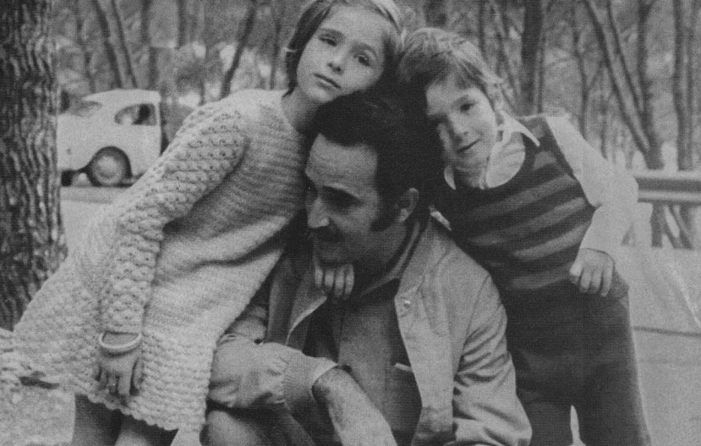 Ljubo Stipišić i djeca ranih sedamdesetih
