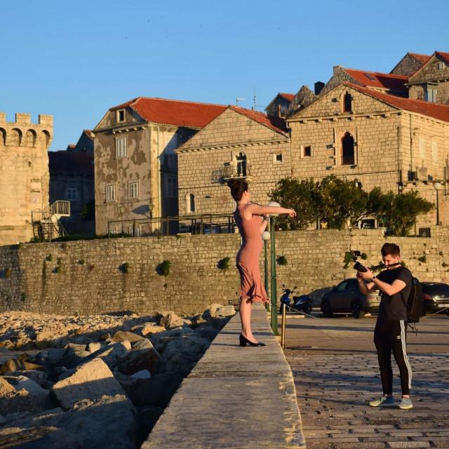 Snimali smo navečer od 17 do 21 sati kad je sunce najmekše - kaze Andro Tasovac