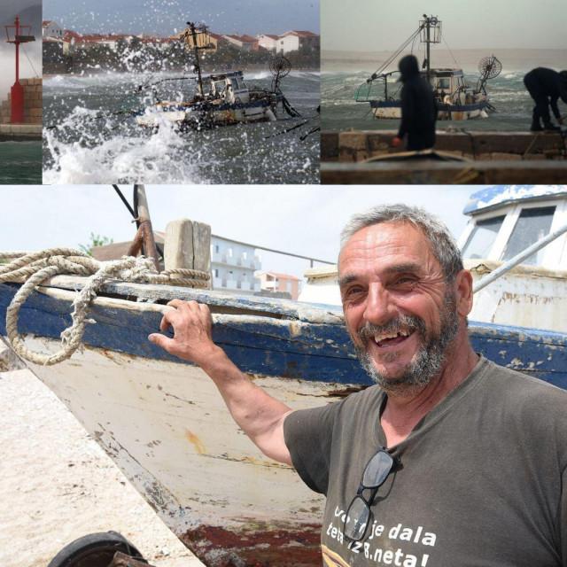 """""""Mimi"""" je postala ikončiki moment, simbol ovog malog ribarskog mista i njegove bure, zahvaljujući našem fotoreporteeu"""