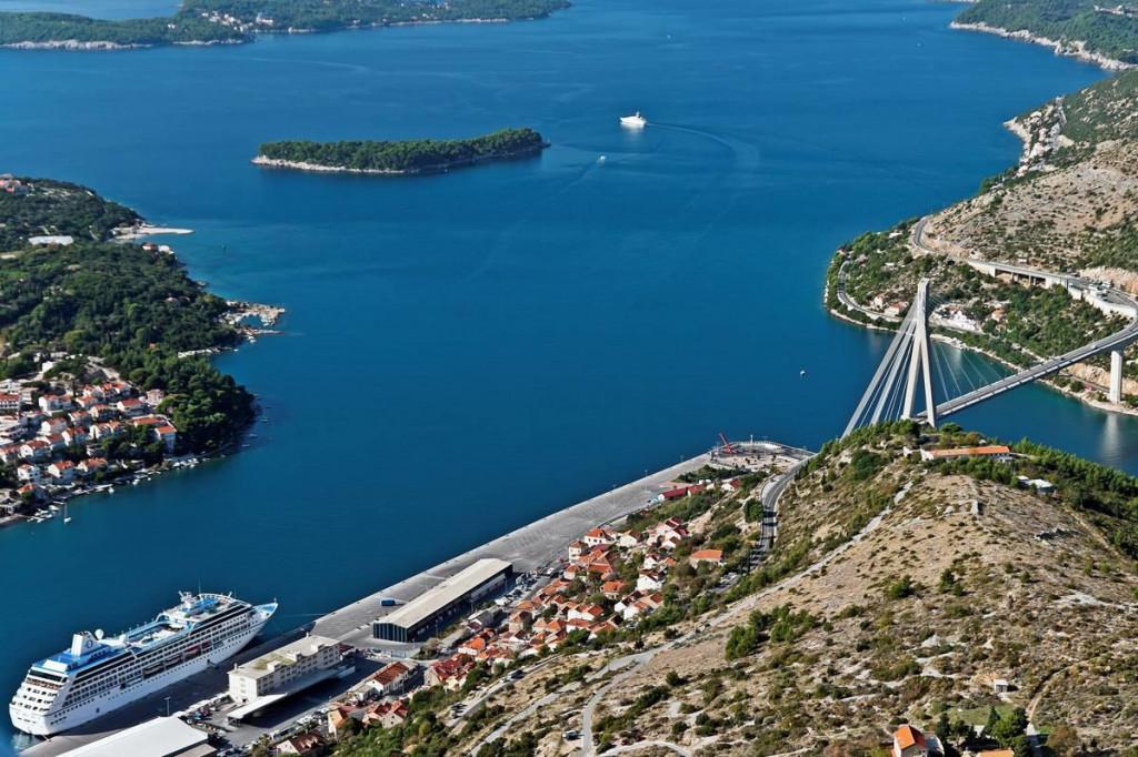 ilustracija, Gruški zaljev, Luka Dubrovnik, Daksa