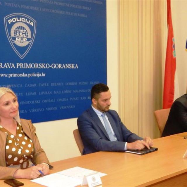 Konferencija za medije u PU primorsko-goranskoj