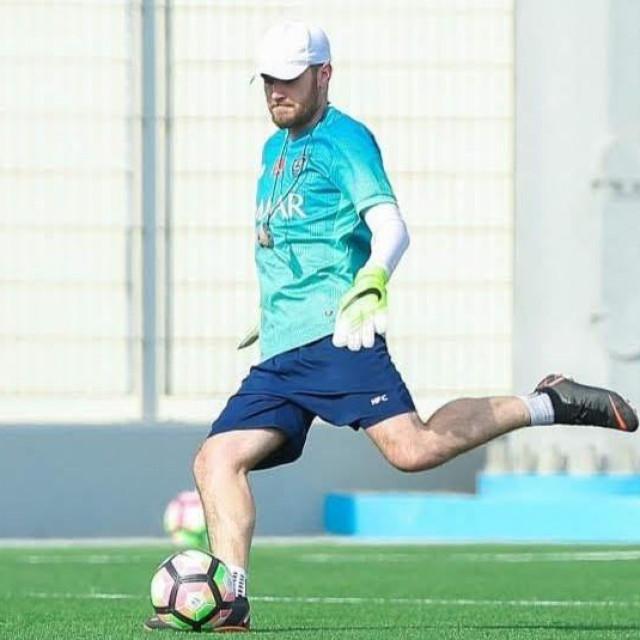 Lovro Skaramuca, trener vratara u akademiji Nogometnog kluba Al-Hilal (Saudijska Arabija)
