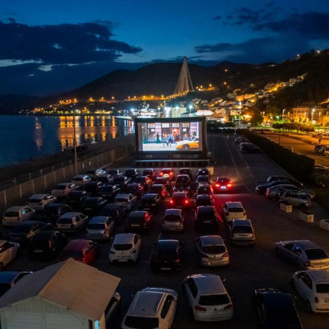 Drive - in kino u Dubrovniku