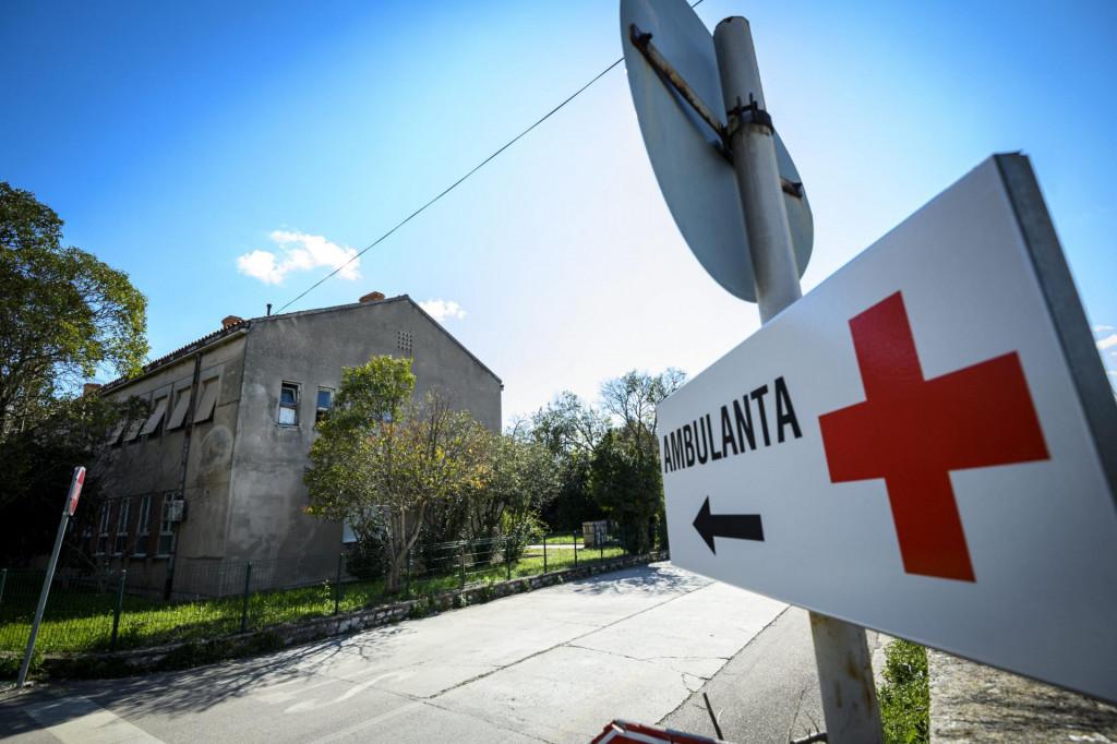 Zgrada u Crnici u kojoj je bila otvorena COVID ambulanta
