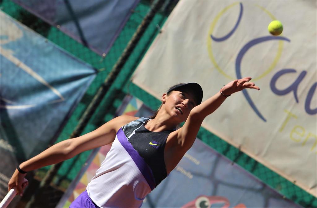 Lucija Ćirić Bagarić na ITF-ovom Dubrovnik Cupu 2019. godine foto: Tonči Vlašić