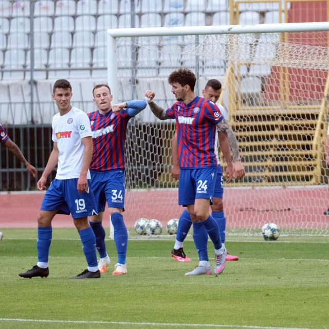 Pripremni dvoboj dviju Hajdukovih momčad pred početak prvenstva