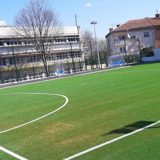 Obnovljen futsal-teren na Spinutu