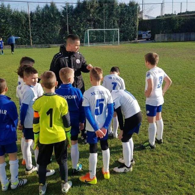 Škola nogometa Zadar.