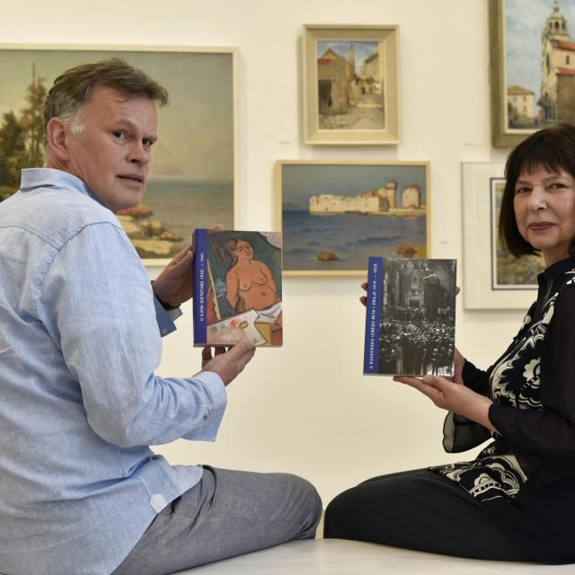 Kustosi Božo Majstorović i Iris Slade: Izložba je drugo i završno poglavlje projekta 'Umjetnost u Splitu 1919. - 1941.'