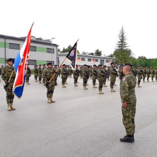 Svečanost u vojarni 'Predrag Matanović' u Petrinji