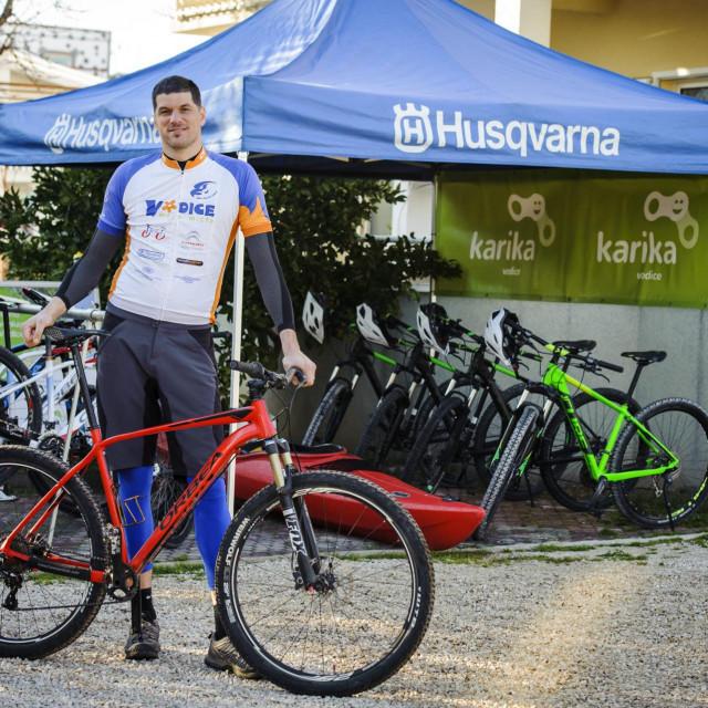 Ivan Cukrov, vlasnik 'Karike', brinut će se o biciklistima