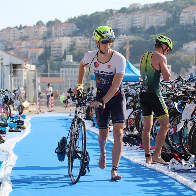 Jakša Diklić, Triatlon klub Dubrovnik foto: Tonči Vlašić