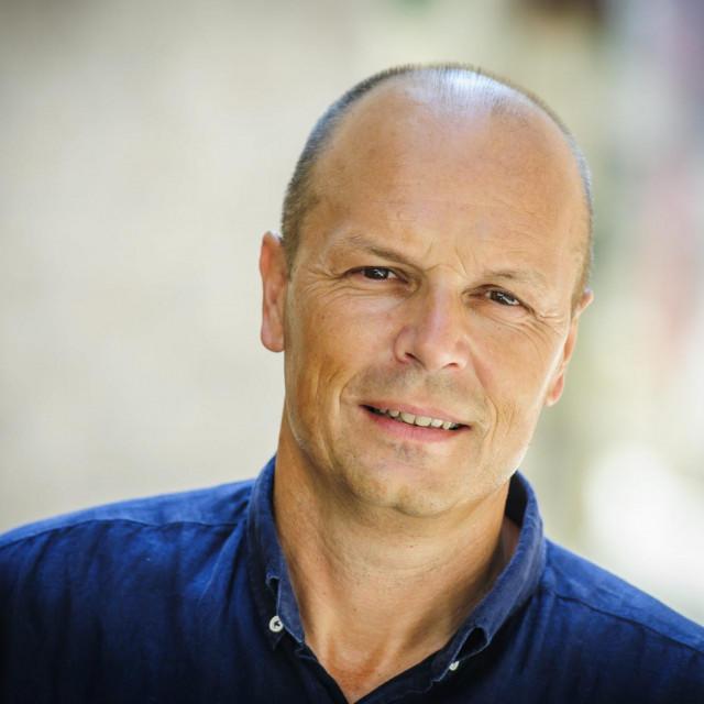 Sibenik, 280518.<br /> Josko Supe, kandidat za predsjednika zupanijske organizacije SDP-a<br />
