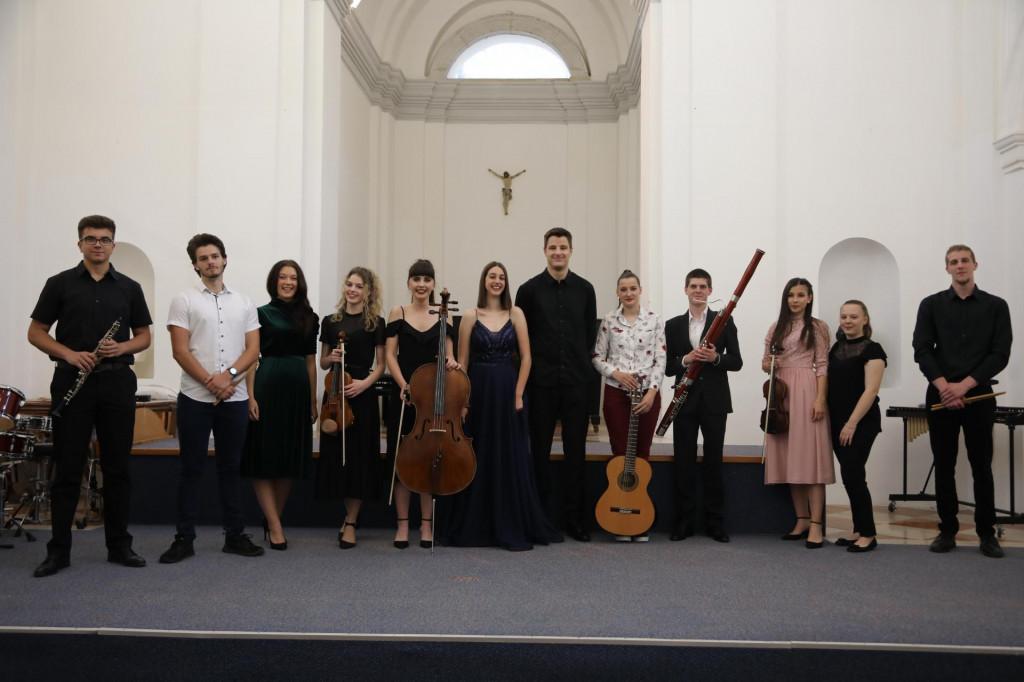 Koncert maturanata Umjetničke škole Luke Sorkočevića