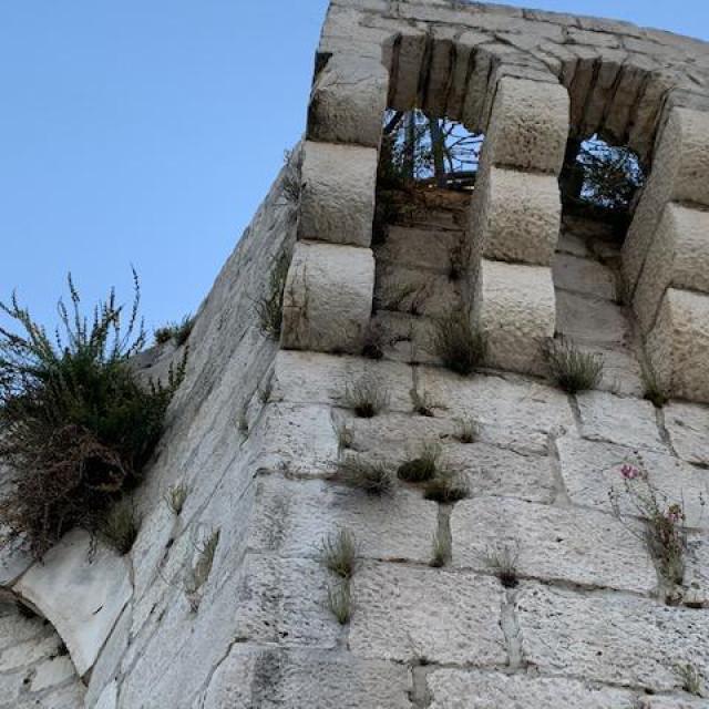 Zapuštena Kula sv. Marka